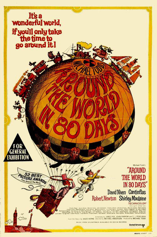 Around the World in Eighty Days Large Poster