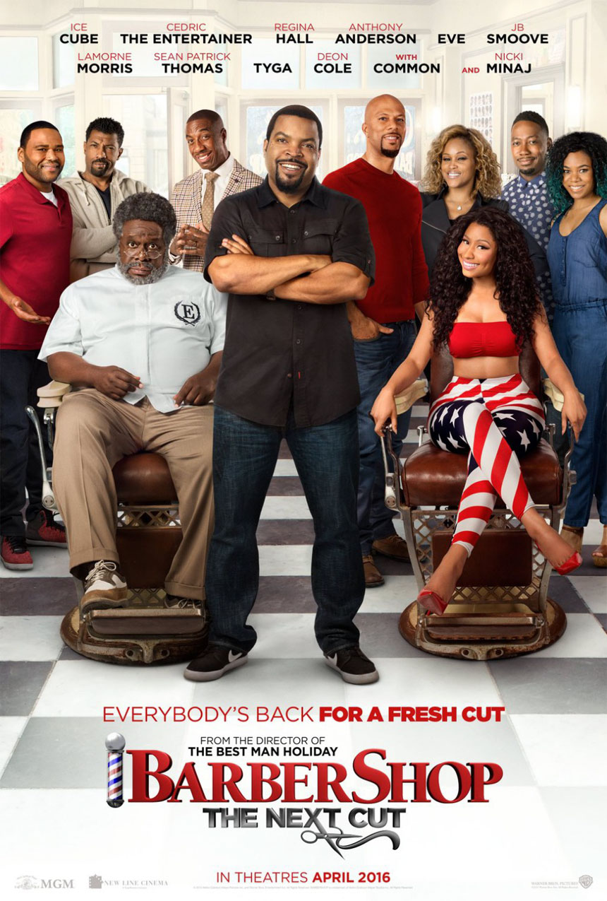 Barbershop: The Next Cut Large Poster