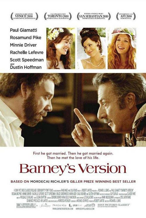 Barney's Version Large Poster
