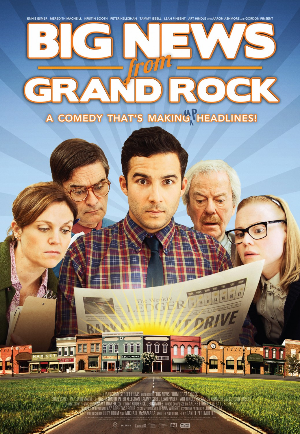 Big News From Grand Rock Large Poster