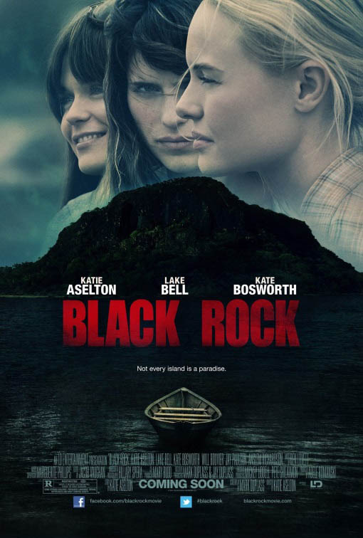 Black Rock Large Poster
