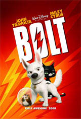 Bolt Movie Poster