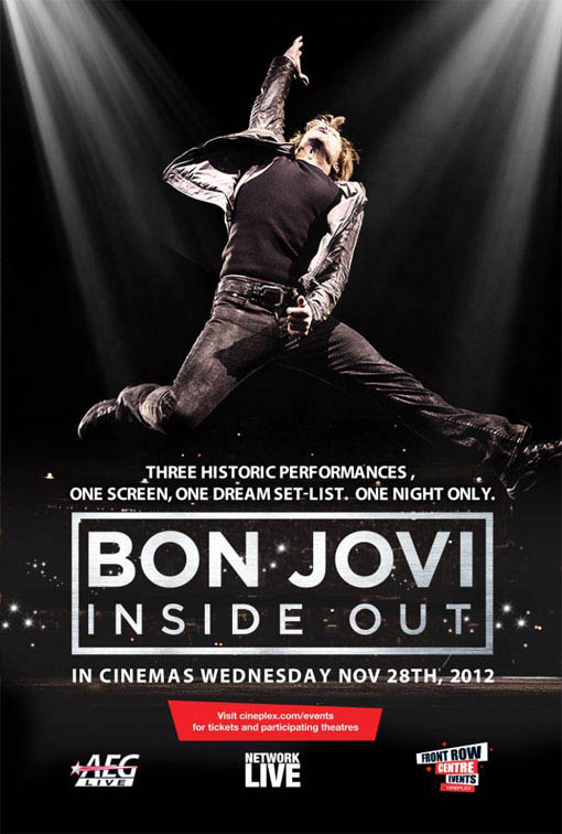 Bon Jovi Inside Out Large Poster
