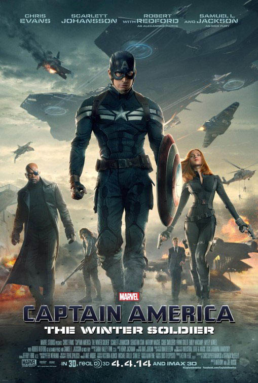 Captain America: The Winter Soldier Large Poster