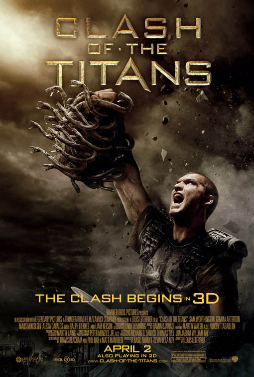 Clash of the Titans Large Poster