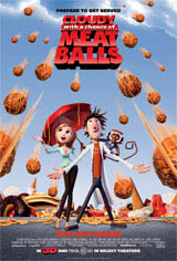 Cloudy with a Chance of Meatballs Movie Poster