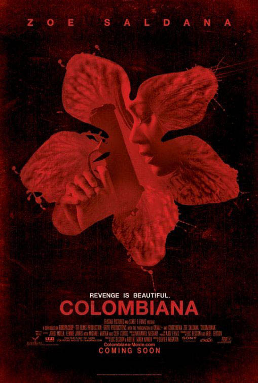 Colombiana Large Poster