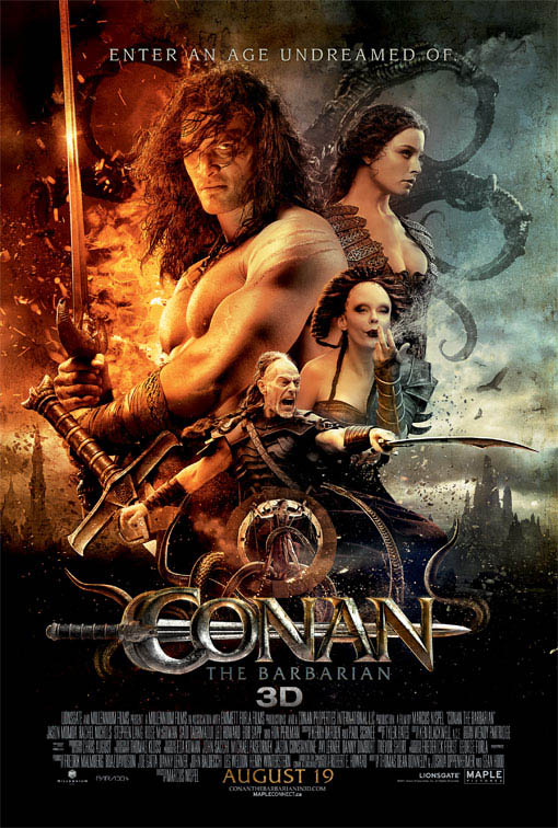 Conan the Barbarian Large Poster