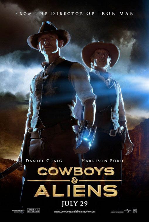 Cowboys & Aliens Large Poster