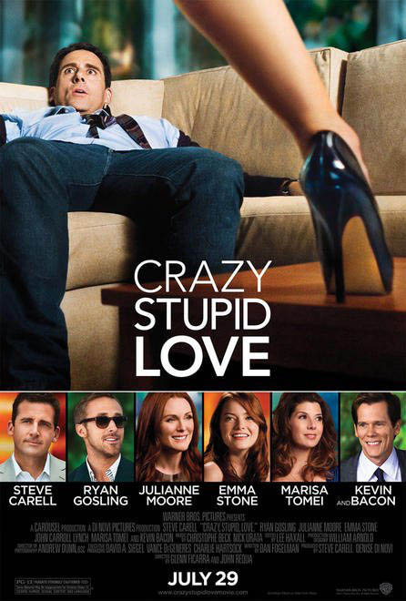 Crazy, Stupid, Love. Large Poster