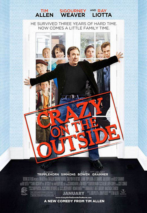 Crazy on the Outside Large Poster