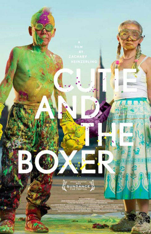 Cutie and the Boxer Large Poster