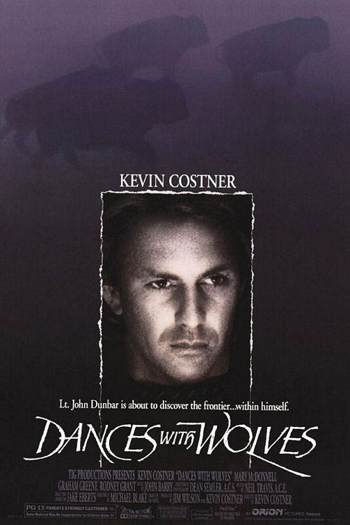 Dances With Wolves Large Poster
