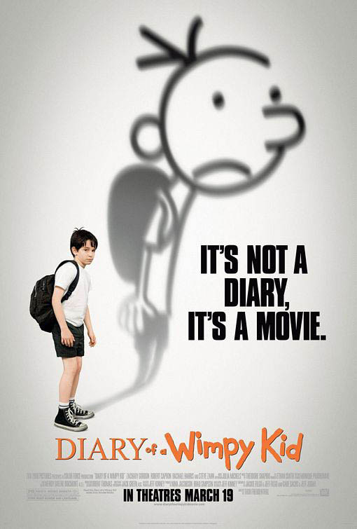 Diary of a Wimpy Kid Large Poster