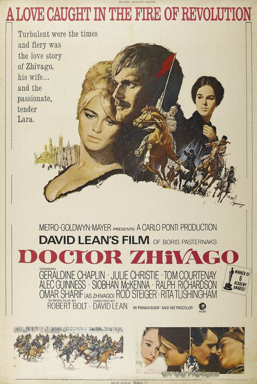 Doctor Zhivago Large Poster
