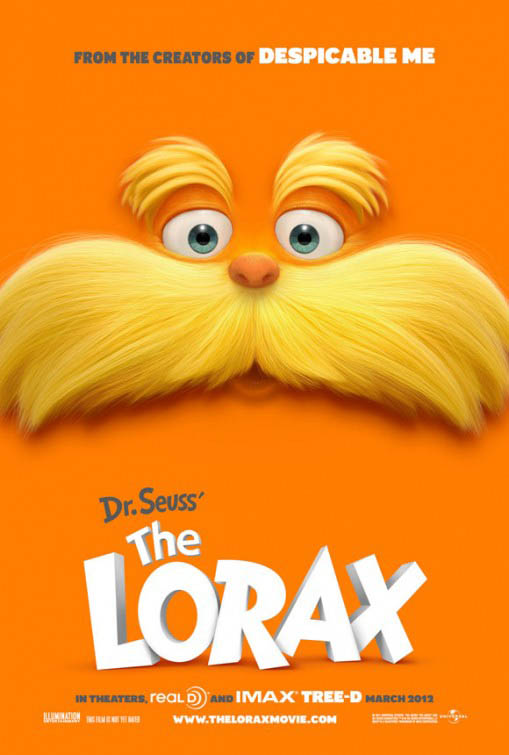 Dr. Seuss' The Lorax Large Poster