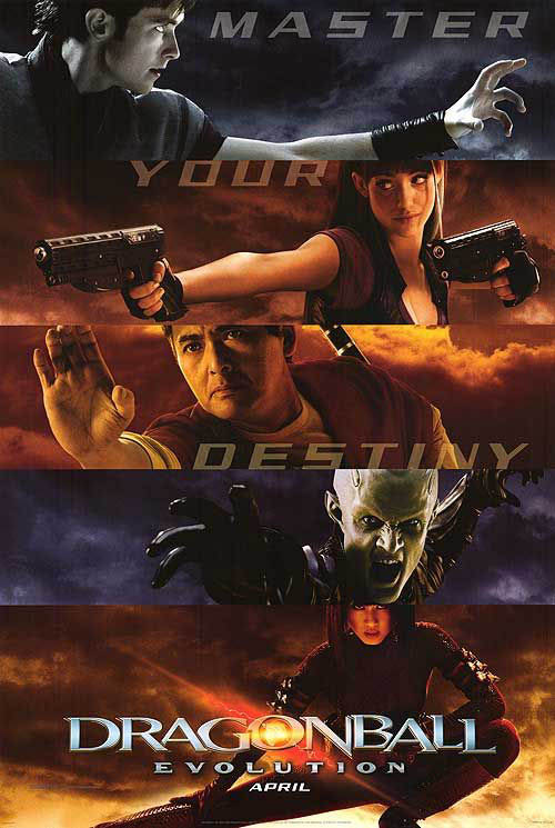 Dragonball: Evolution Large Poster