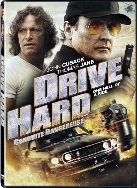 Drive Hard Large Poster