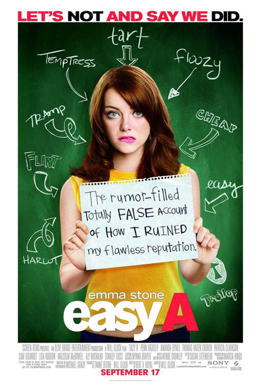 Easy A Large Poster