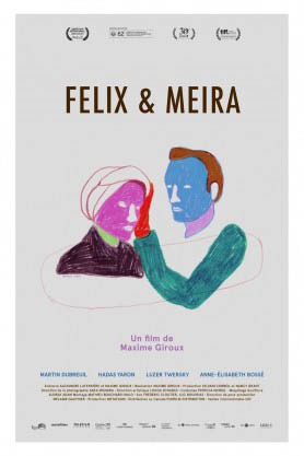 Felix & Meira Large Poster