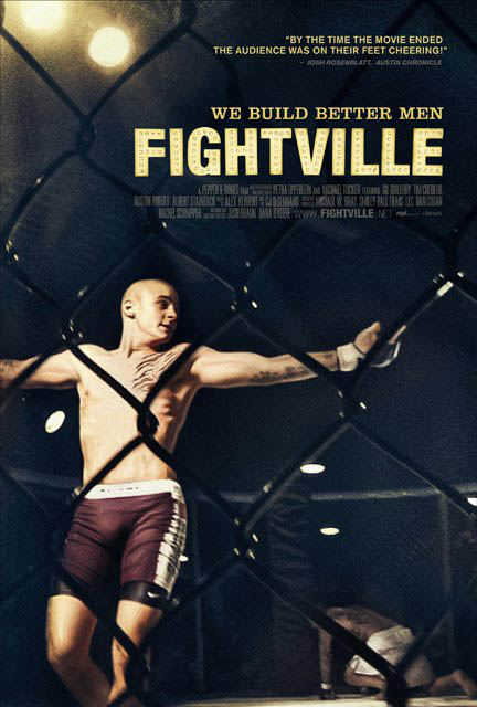 Fightville Large Poster