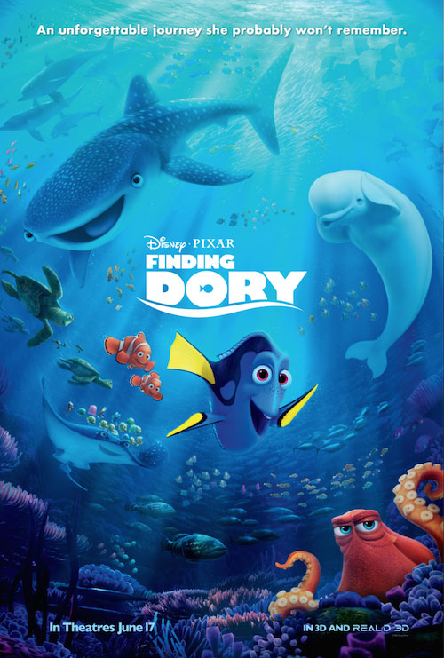 Finding Dory Large Poster