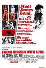 From Russia With Love Movie Poster