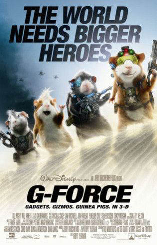 G-Force Large Poster