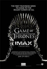 Game of Thrones: The IMAX Experience Movie Poster