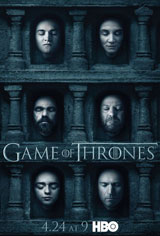 Game of Thrones: Season 6 Movie Poster Movie Poster