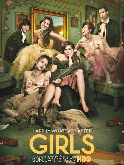 Girls: The Complete Third Season Large Poster