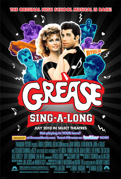 Grease Sing-A-Long Large Poster