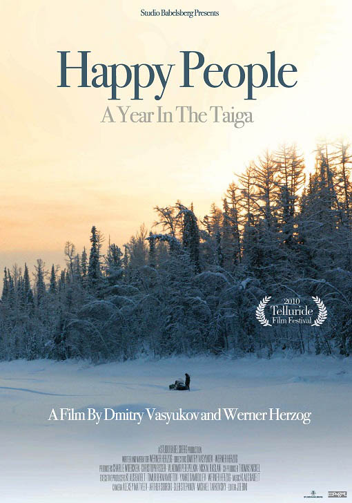 Happy People: A Year in the Taiga Large Poster