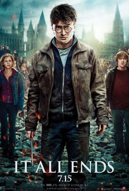 Harry Potter and the Deathly Hallows: Part 2 Large Poster