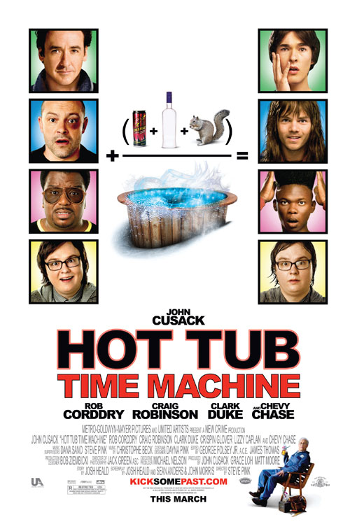 Hot Tub Time Machine Large Poster