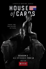 House of  Cards: Season 2 Movie Poster