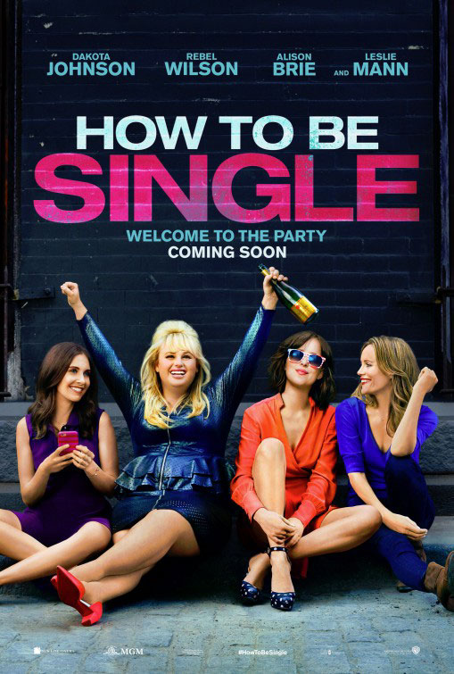 How to Be Single Large Poster