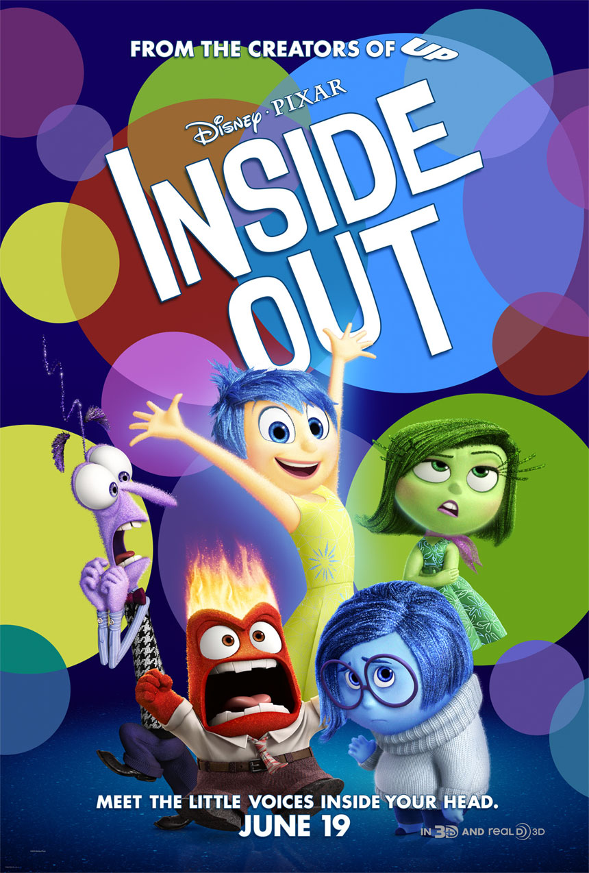 Inside Out Large Poster