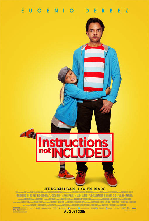 Instructions Not Included Large Poster