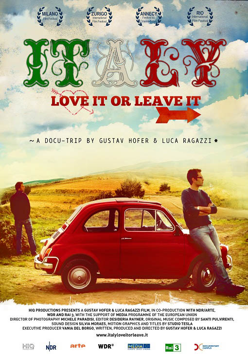 Italy: Love it or Leave it Large Poster