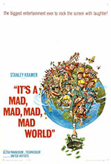 It's a Mad, Mad, Mad, Mad World Movie Poster Movie Poster
