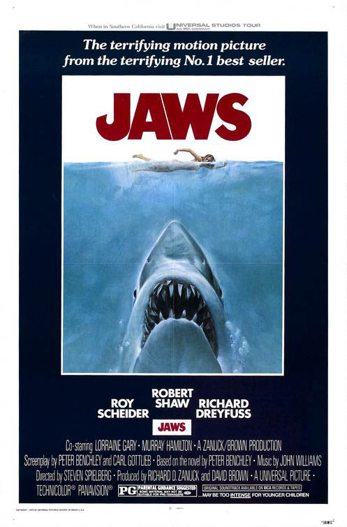 Jaws Large Poster