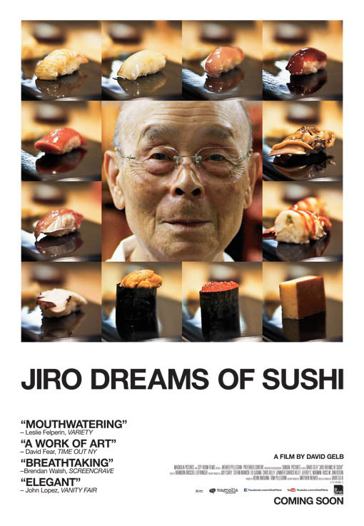 Jiro Dreams of Sushi Large Poster