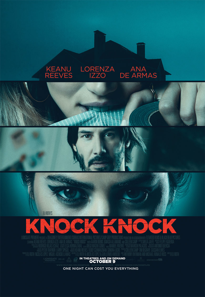 Knock Knock Large Poster