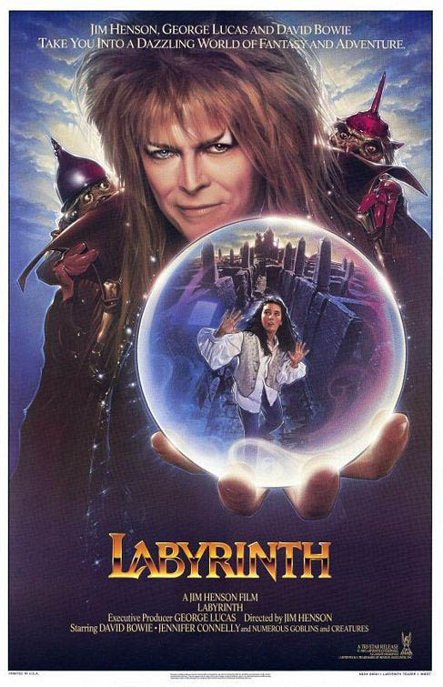 Labyrinth - Most Wanted Mondays Large Poster