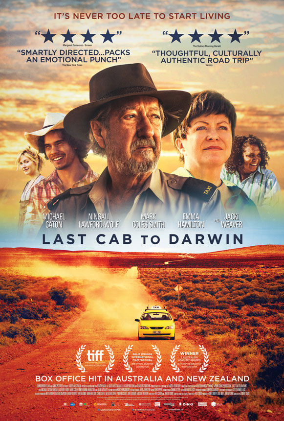 Last Cab to Darwin Large Poster