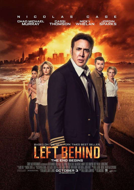 Left Behind Large Poster