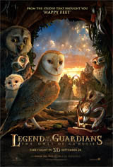 Legend of the Guardians: The Owls of Ga'Hoole Movie Poster Movie Poster