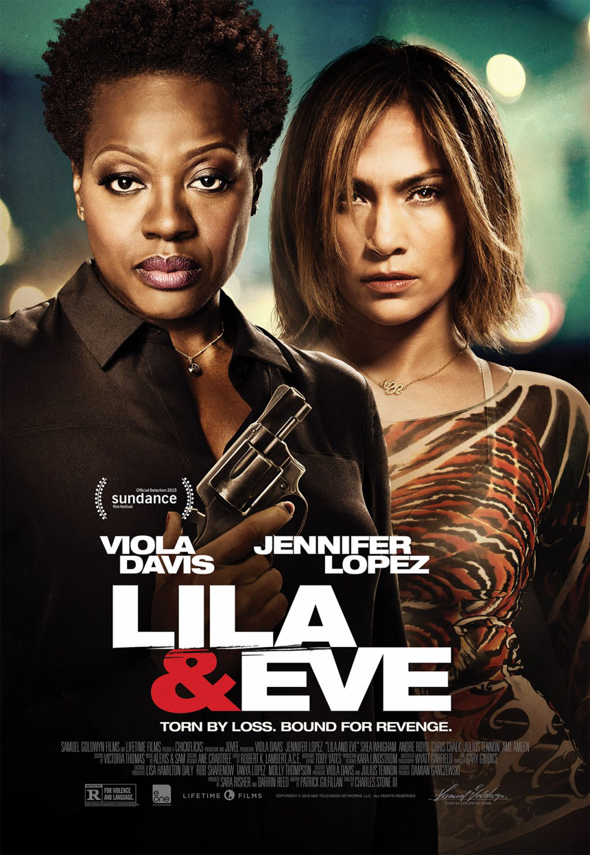 Lila & Eve Large Poster