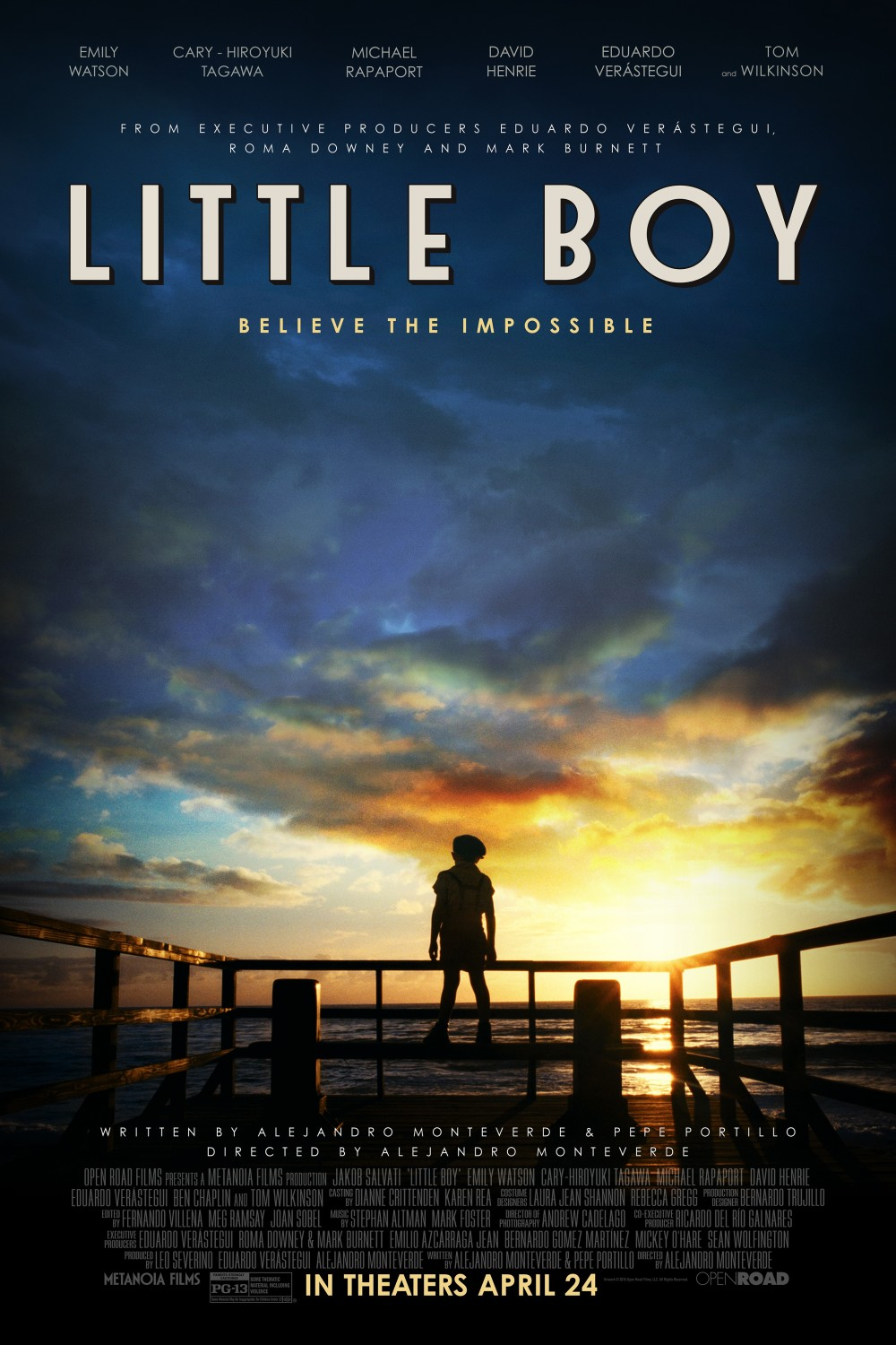 Little Boy Large Poster